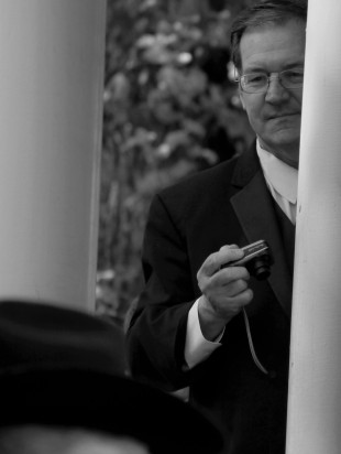 2013-10-12 - Wedding of Carol Cizauskas and Donald Prather - Plumas House, Reno - by Patrick Casey - b+w